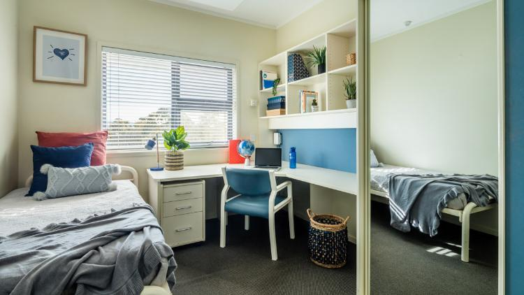 A bedroom at Campus East