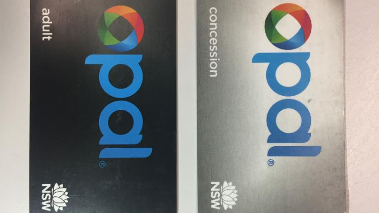 Adult and Consession Opal card