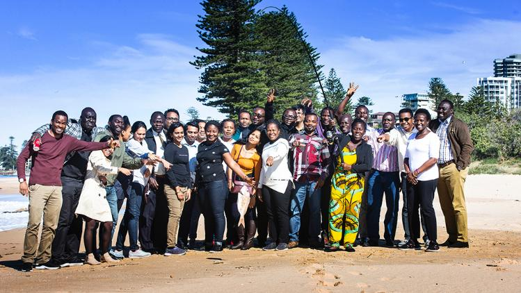 ANCORS field trip with 28 African participants