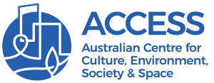 Logo for Australian Centre for Culture, Environment, Society and Space