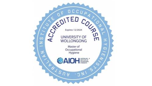 Australian Institute of Occupational Hygienists (AIOH) accredited course