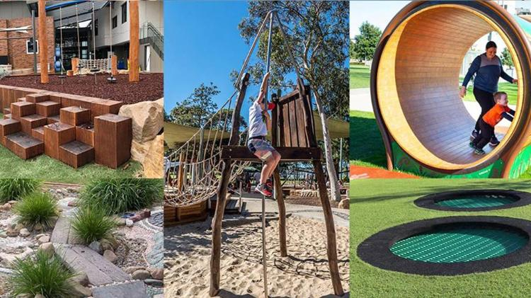 Example of all inclusive playground destined for the Illawarra