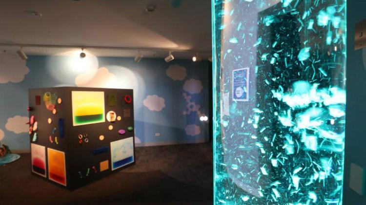 Sensory room at Early Start Discovery Space