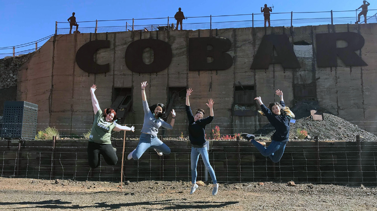 UOW medical students travel to Cobar for SHARP society trip