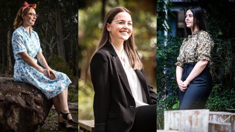 From left, Molly Lasker, Holly Gregory, and Kathleen Taylor. Photos: Paul Jones