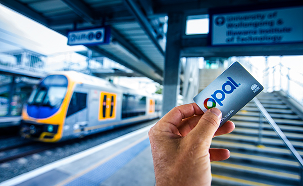 2015: Students among first to receive Concession Opal card