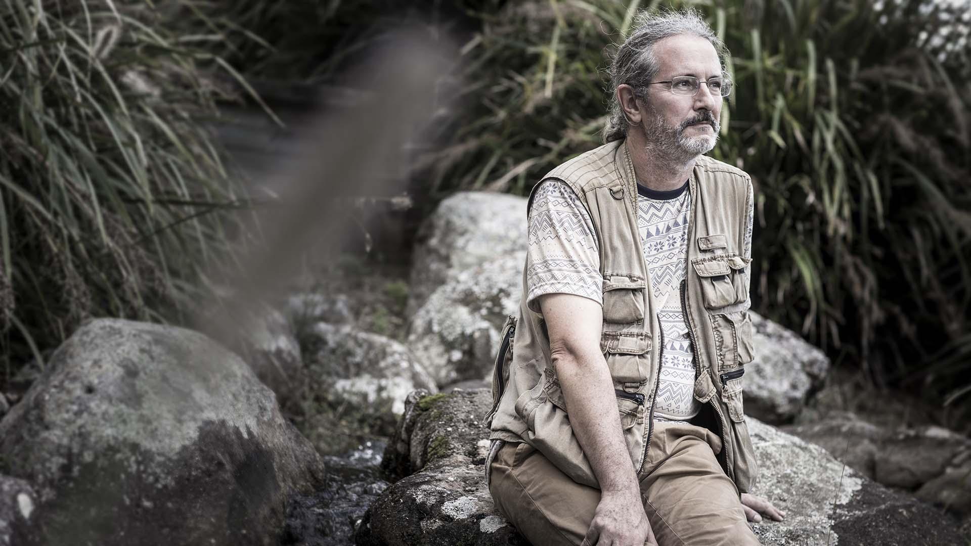 Archaeologist Dr Gerrit van den Bergh