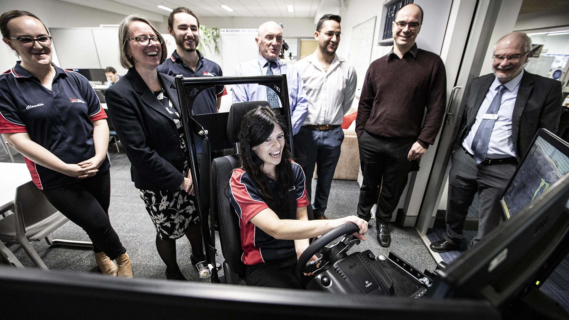 Driving simulator gives UOW Motorsport a competitive edge