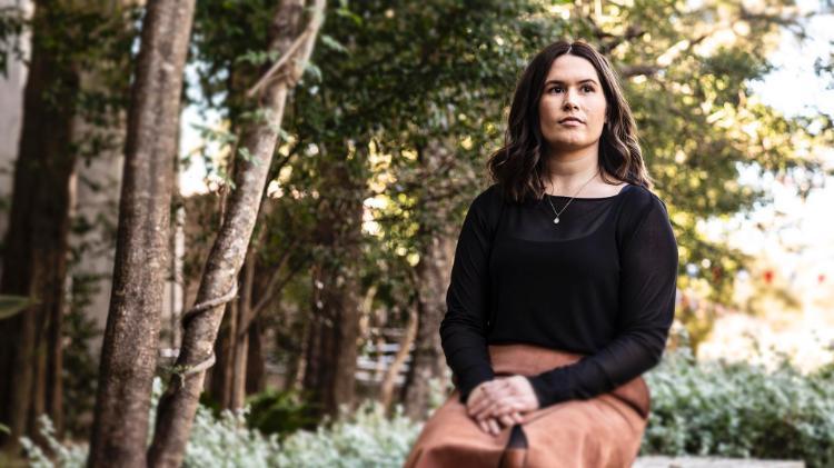 School of Psychology PhD candidate Josie McNamara