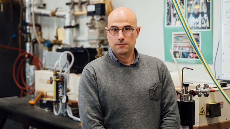 UOW NSQN lead Marco Petasecca from the Centre for Medical Radiation Physics (CMRP)