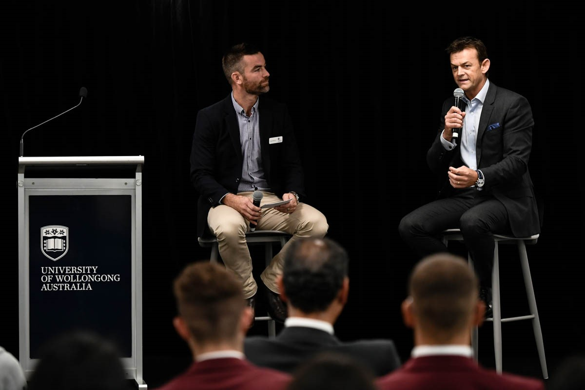 UOW and Adam Gilchrist join hands to support sustainability in social enterprises