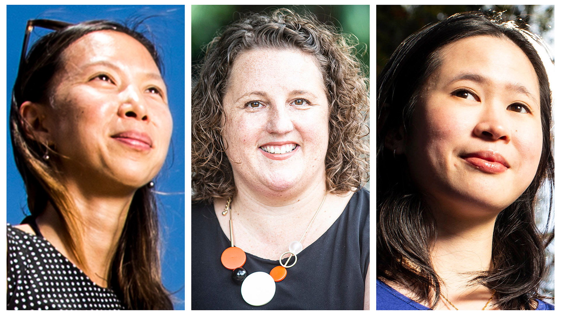 Marian Wong, Holly Tootell and Yee Lian Chew have been named as Suprstars of STEM for 2021 - 2022