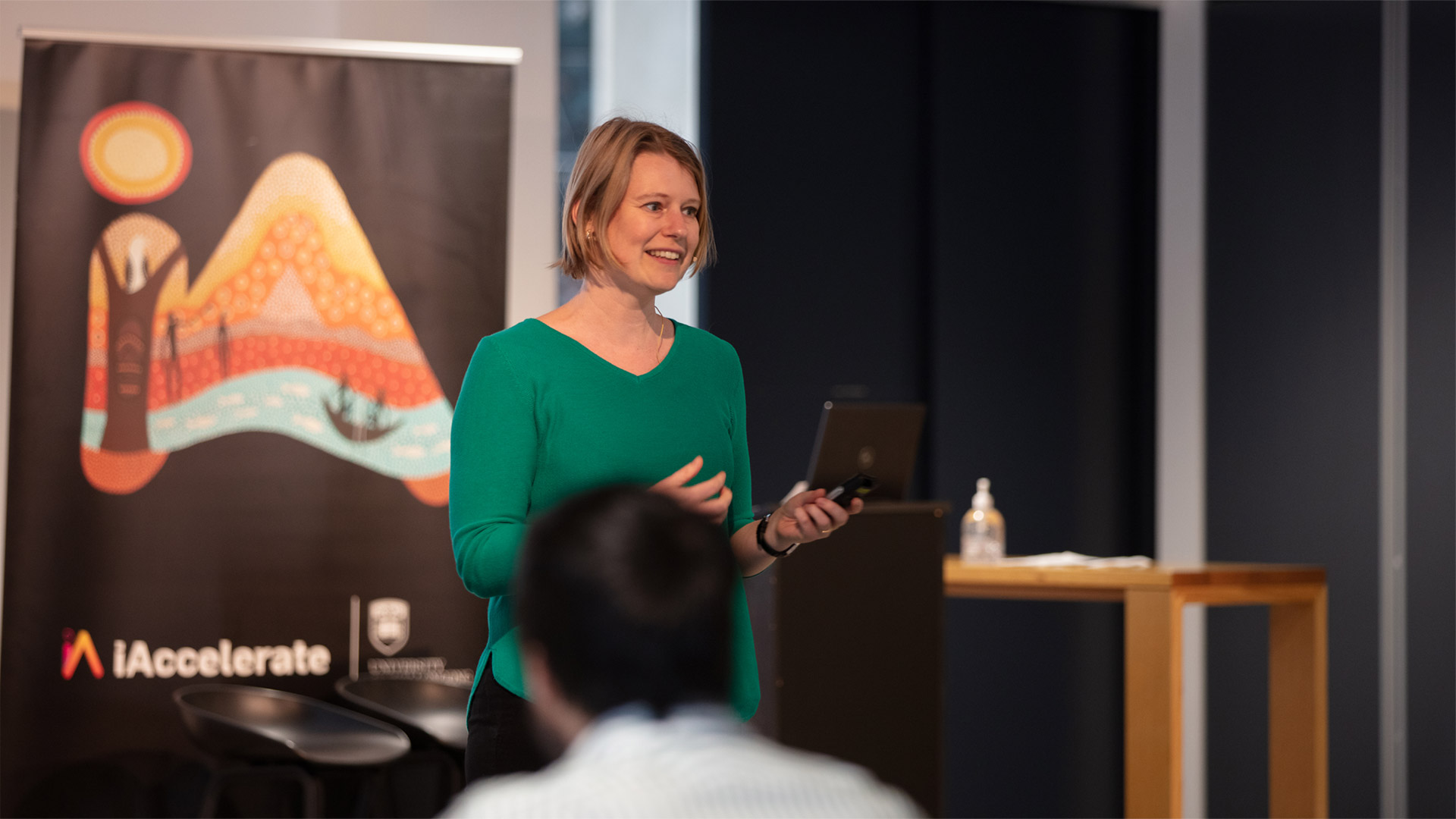 iAccelerate Activate program with Sabine Straver, Educate Program Manager, iAccelerate